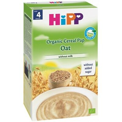 HIPP Organic Cereal Pap Oat from 4 Months Without Milk 200g 7oz