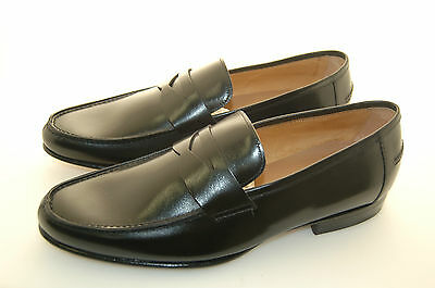 Man - 42 -8 Eu - Penny Loafer - Black Patent - Lining - Leather Sole