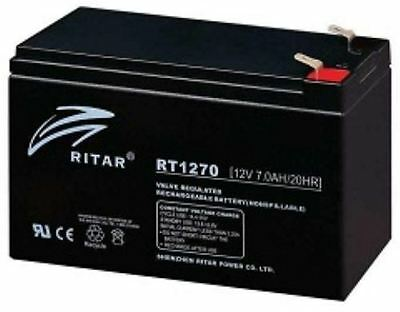 Panasonic LC-R127R2P LC-R127R2P1 UP-RWA1245P1 Battery BY RITAR