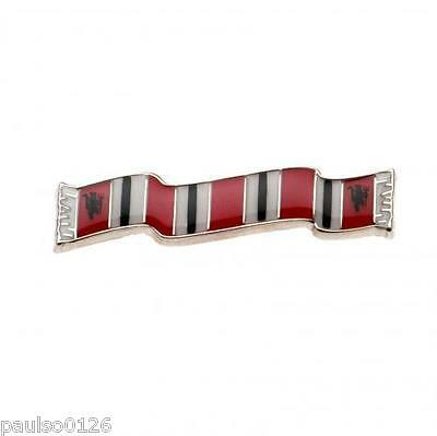 Manchester United Bar Scarf Pin Badge Brand New
