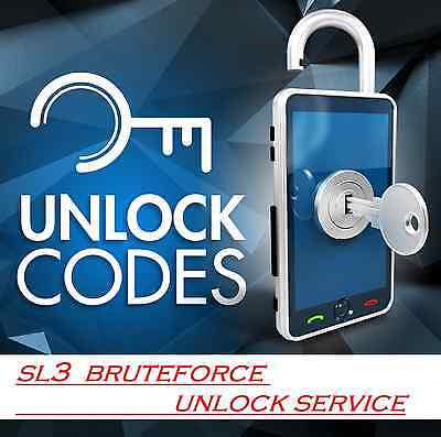 NOKIA sl3 unlock bruteforce - best service you can find