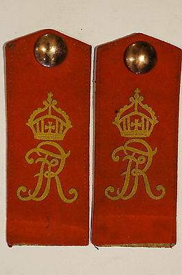 WW1 Imperial German Infantry Regiment No.125 Shoulder Boards Straps