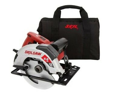 Skil1 Circular Saw 5 Amp 7-1/4 in.Power Wood Cutting Tool Laser Lightweight New