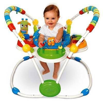 AWESOME Bright STARTS Cute CRITTERS Activity JUMPER & Lots OF FREE  Hanging TOYS