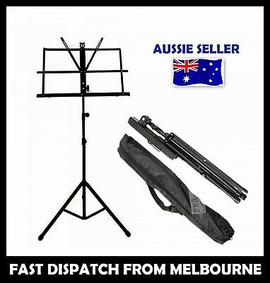 New Professional Heavy Duty Folding Adjustable Music Sheet Stand FREE POST AUST