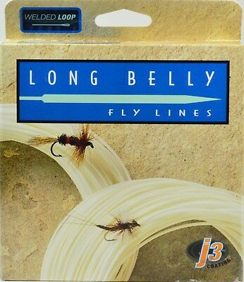 Wulff Long Belly Fly Line, Floating, Ivory, 5 Weight