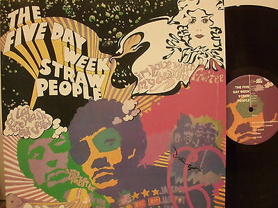 FIVE DAY WEEK STRAW PEOPLE  1968 UK GET BACK  re  PSYCH  LP