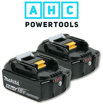 Makita BL1850B 18v 5.0Ah Li-ion LXT Battery Pack of 2