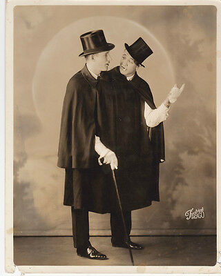 Foy Large Frank Morgner Entertainers Photograph B/W 8 x 10 1930s