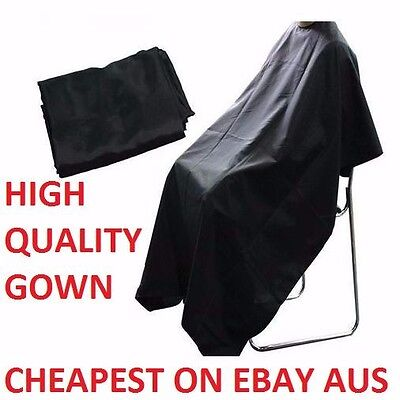 Quality Black Hairdressing Hair Cutting Cape Barber Hairdresser Pro Salon Gown