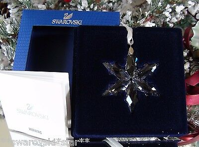2015 Nib Swarovski Annual Little Christmas Ornament Star/snowflake #5100235