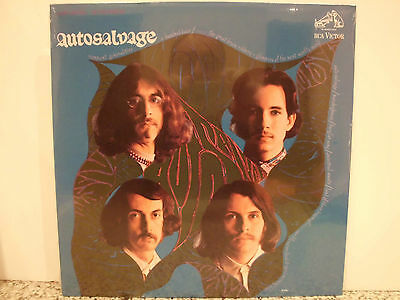 AUTOSALVAGE s/t 1968 USA  re press PSYCH LP still SEALED