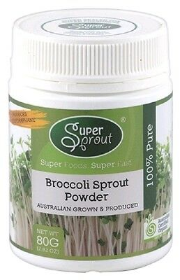 Super Sprout Broccoli Sprout Powder 80g