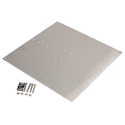 Anodized Aluminum 3D Printer Heated Bed Build Plate for RepRap Prusa Makerbot