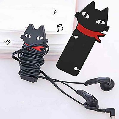 Headphone Earbud Earphone Cord Cable Wire Rubber Winder Manage Organizer Holder