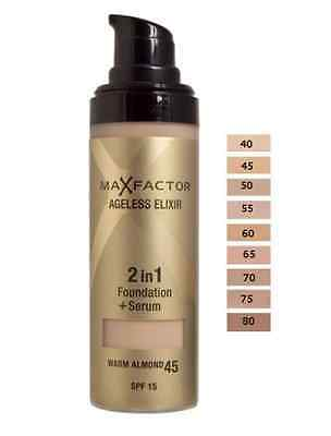 Max Factor Ageless Elixir 2 In 1 Foundation 30ml