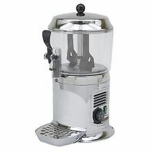 Buffet Enhancements Silver Chocolate Shot - Drinking Chocolate Machine, 5 Quart