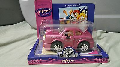 "2002 Chevron ""hope"" Car - Special Edition - Breast Cancer Awareness Car"