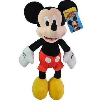"""Disney Mickey Mouse 18"""" Plush Doll - Stuffed Toy Licensed NWT"""