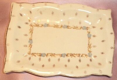 Estate Collectable Royal Staffordshire Pottery Dish ~ Vintage England ~CHIPPED