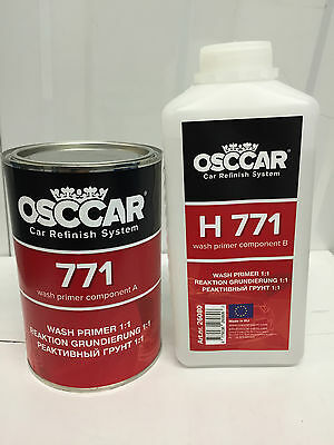 OSCCAR 771 2K 1+1 Acid Etch Wash Primer 2LTR inc. hardener FAST DRYING