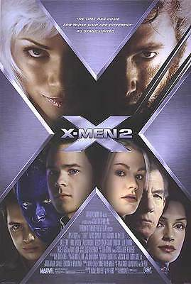 X-Men 2  Version C Double Sided Original Movie Poster 27x40 inches