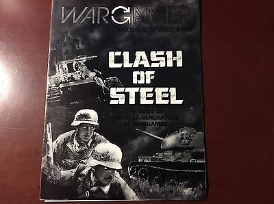 Clash of Steel Game Wargamer   - UNPUNCHED  (Avalon Hill, GDW, 3W, SPI)