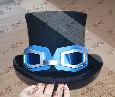One piece Sabo Cosplay Costume Top Grade(Just the Hat And the Glasses Prop)