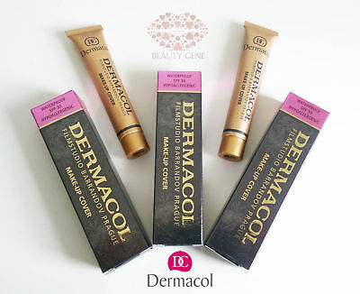 Dermacol High Cover Make Up Foundation Legendary Film Studio Hypoallergenic !