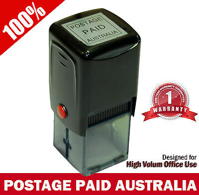 Premium Pre-Inked Stamp for AusPOST Business Account - POSTAGE PAID AUSTRALIA