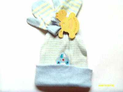Baby Boy Hat & Mitts Set