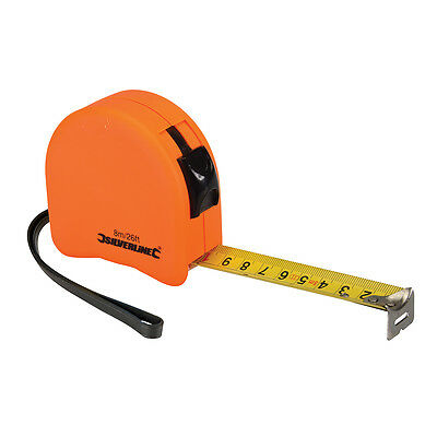 8m/26Ft Measuring Tape Metric and Imperial 25mm wide MT08