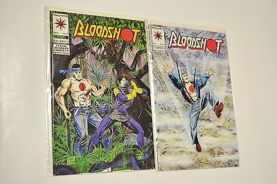Valiant Comics Original Bloodshot #6 & #7 1st Cameo and Full App Ninjak KEY!