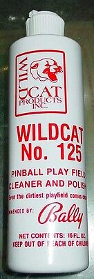Wildcat 125 Pinball Playfield Cleaner Polish