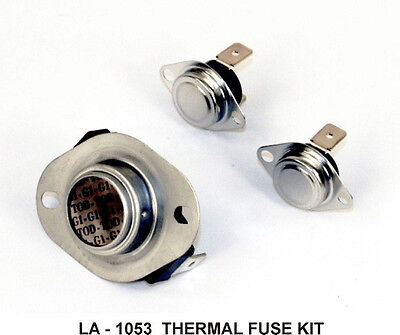 kenmore electric or gas dryer thermal fuse • 4 95 picclick whirlpool dryer thermal fuse high limit thermostat la 1053 gas or electric