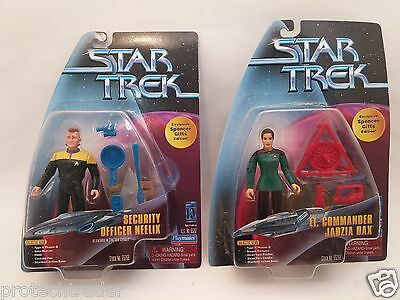 RARE Lot of Star Trek Exclusive Spencer Gifts Edition Playmates 65267 Dax Neelix