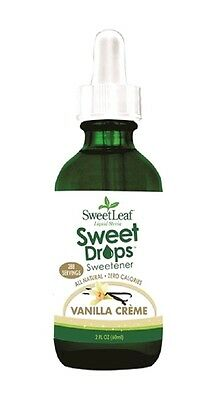 Sweet Leaf Stevia Liquid Vanilla 60ml - 288 Servings