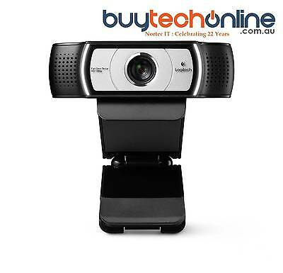 Logitech C930e Webcam 1080p Full HD USB Web Camera for Business PC Mac Skype