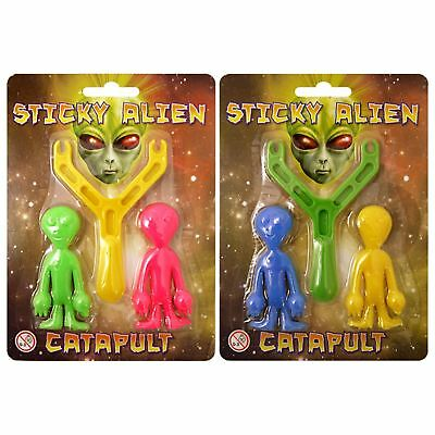 Boys Girls Catapult Sticky Aliens Kids Party Bag Christmas Stocking Fillers Toys