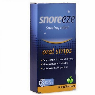 Snoreeze Snoring Relief Oral Strips 14 Pack