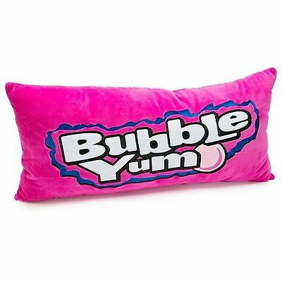 Bubble Yum Embroidered Plush Pillow Cylinder With Polyfill Officially Licensed
