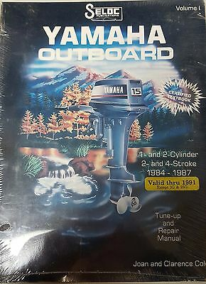 Yamaha Outboard - Volume 1 - 1- and 2- Cylinder, 2- and 4-Stroke, 1984-1987