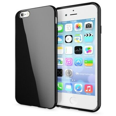 iPhone 6 6S Hülle Handyhülle von NICA, Ultra-Slim TPU Silikon Cover Jelly Case
