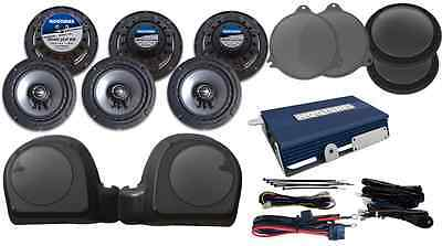 Hogtunes Limited-Rm Complete Speaker And Amp Kit For 2015-2017 Harley Road Glide