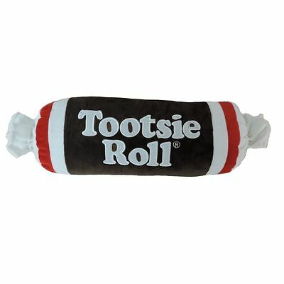 Tootsie Roll Embroidered Plush Pillow PLUSH Candy With Polyfill