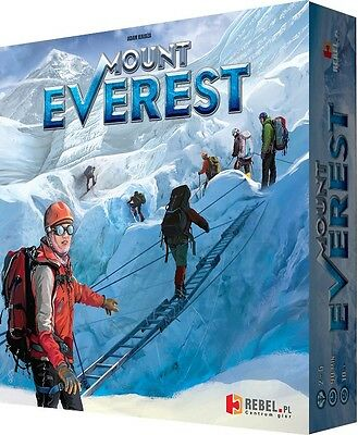 Mount Everest Board Game (climbing, accessories, mountaineering, gift, mountain)