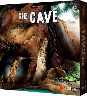 The Cave Board Game (caving, climbing, caving accessories, climbing, gift)