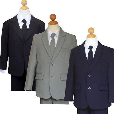 BOYS RECITAL, RING BEARER, GRADUATION SUIT SET, SIZE: 2T to 14