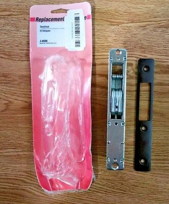 New Prime-Line Products J-4559 Hook Style Door Mortise Deadlock Replacement