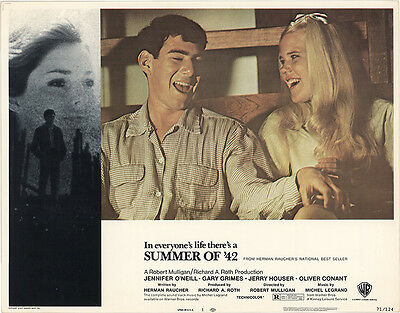 Summer of '42 1971 Original Movie Poster Comedy Drama Romance